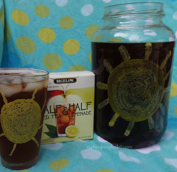DIY Iced Tea Glass