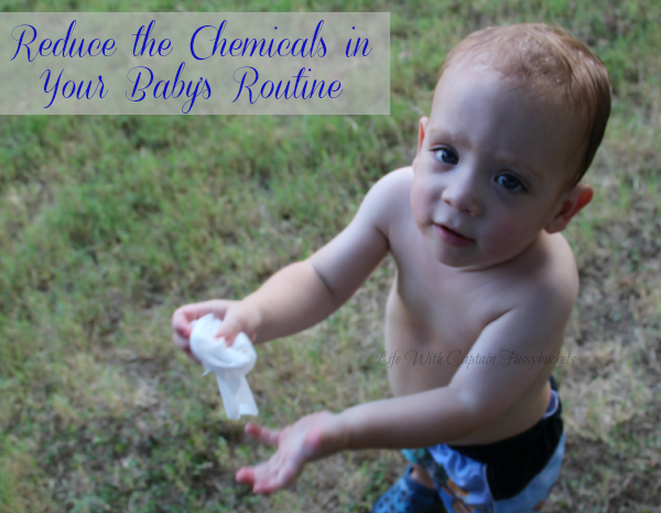 Reduce The Chemicals In Your Baby's Routine with Water Wipes