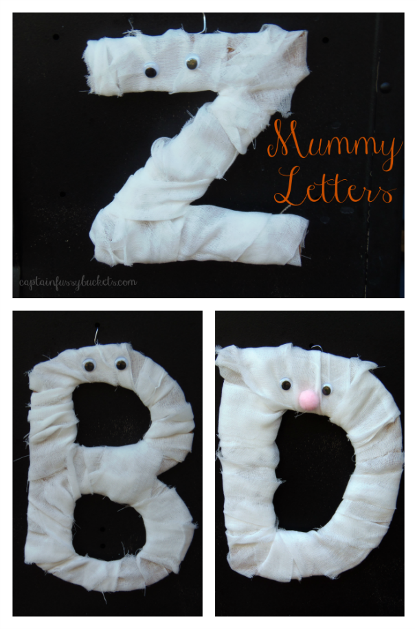 Mummy Letters craft for kids