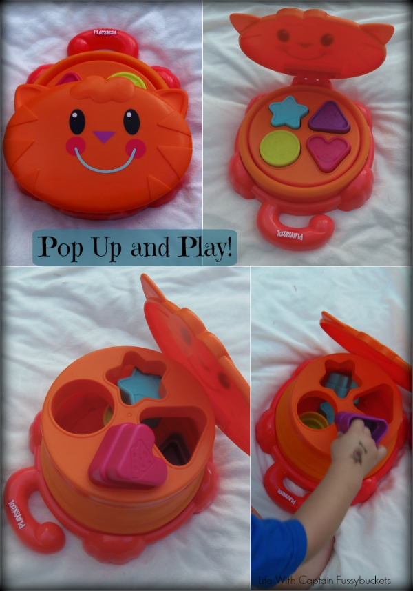 pop up and play Shape Sorter