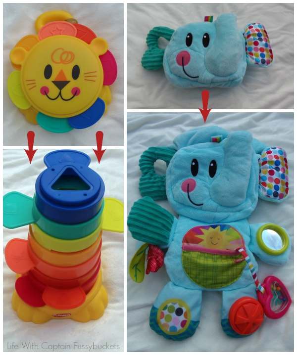 Playskool On-The-Go Toys