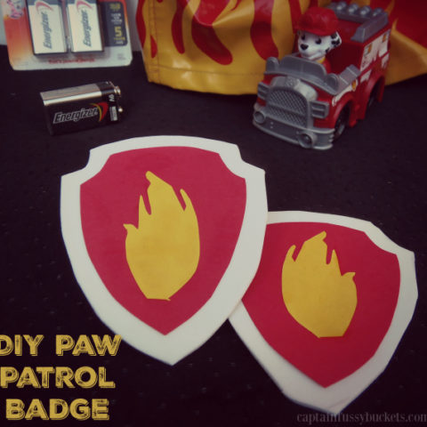 DIY Paw Patrol Badge