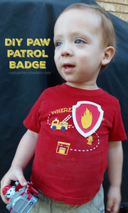 Paw Patrol Marshall Badge