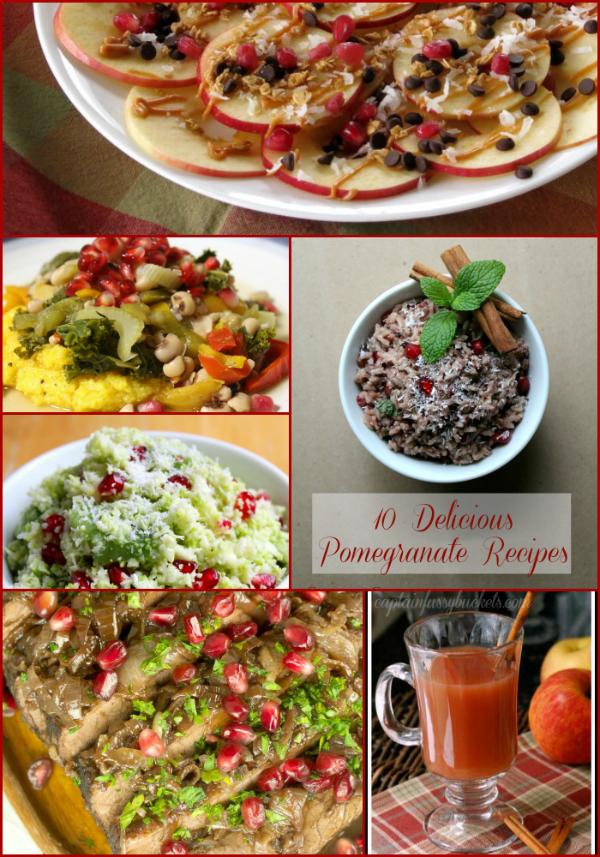10 Delicious Pomegranate Recipes