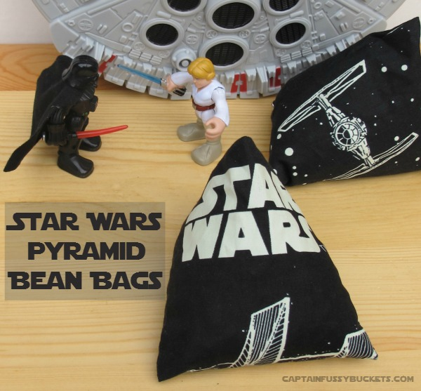 Celebrate the new Star Wars movie with these super cute beanbags!