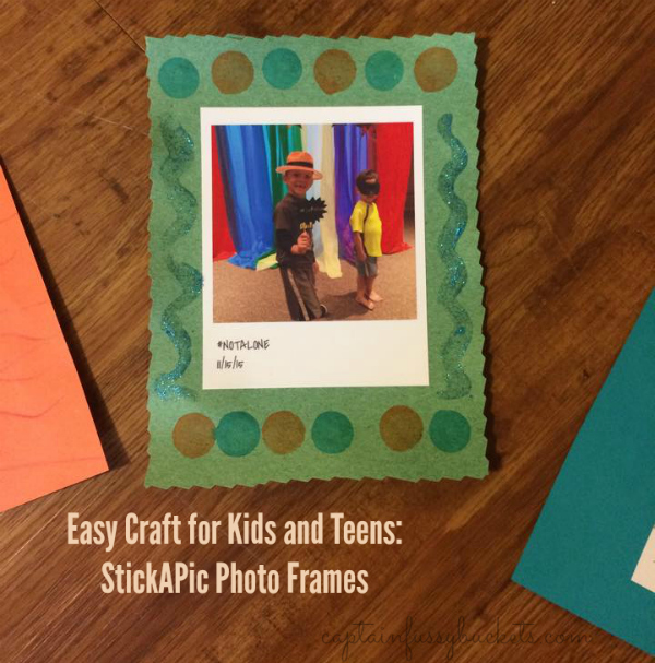 stickapic photo frames craft for kids