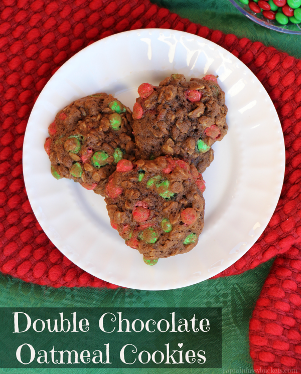 Double Chocolate Oatmeal Cookie Recipe