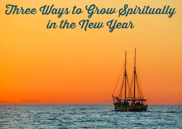 Three Ways To Grow Spiritually In The New Year plus prayer wall diy