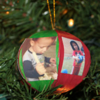 Picture Ornament Craft for Kids