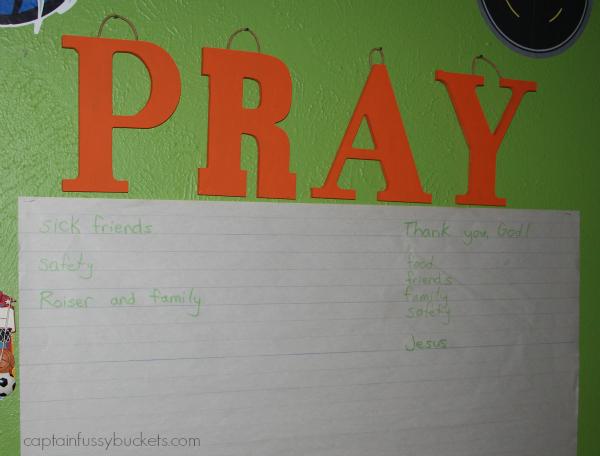 DIY Prayer Wall