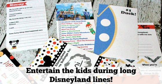 Disneyland activity book