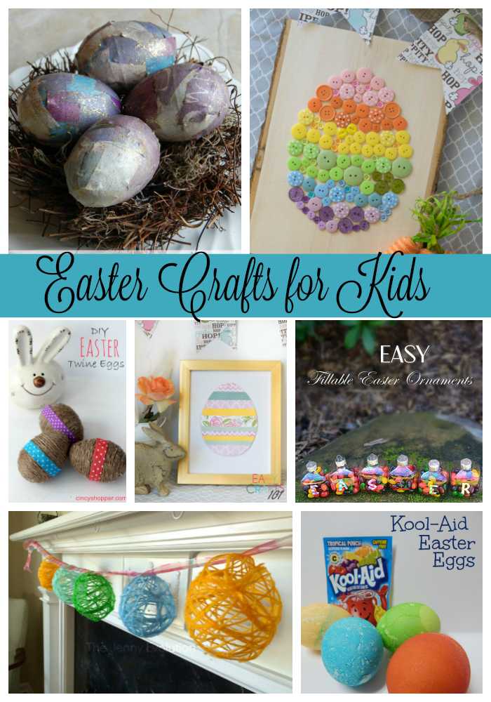 Easter Crafts For Kids Via Pinterest Ginger Casa