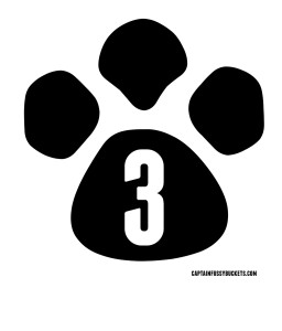 Easy Diy No Sew Paw Patrol Shirt With Free Template Printables on Number Bond Template