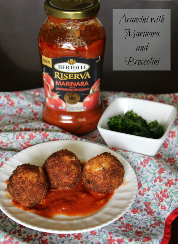 Arancini with Marinara - Create an Italian Inspired Dish with Bertolli