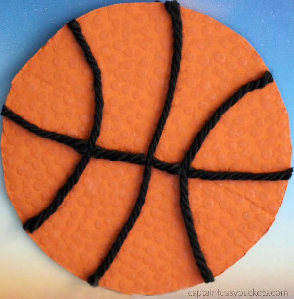 #GameForBasketball Ad Basketball Craft #CollectiveBias