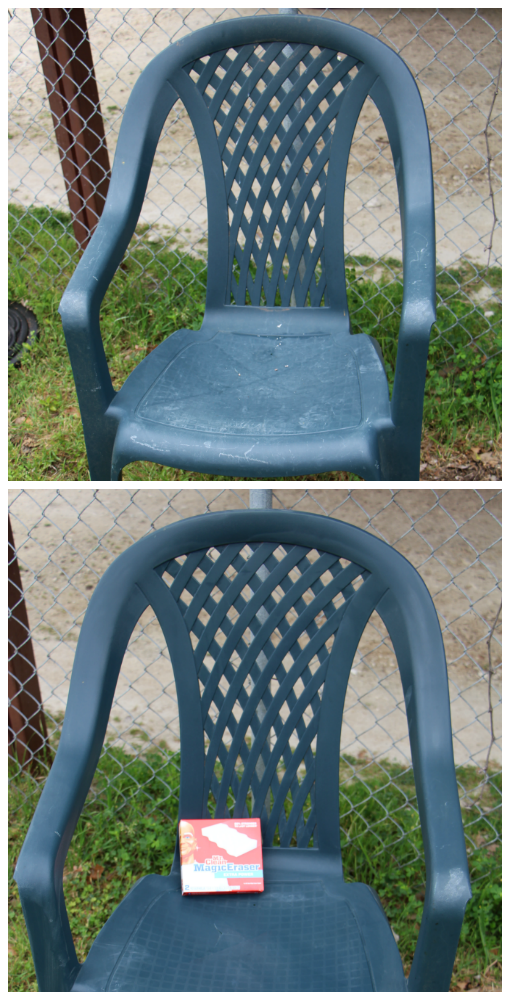 spring clean your backyard chairs