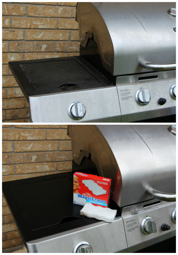 spring clean your backyard grill