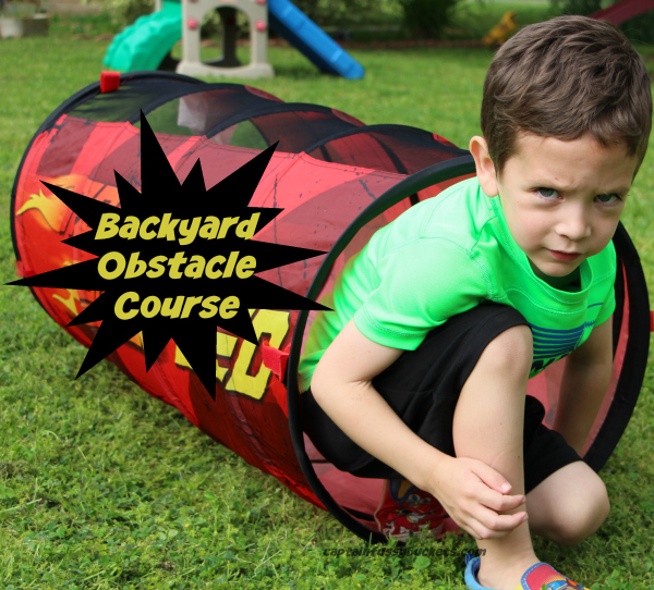Backyard Obstacle Course AD #FreeToBe #CollectiveBias