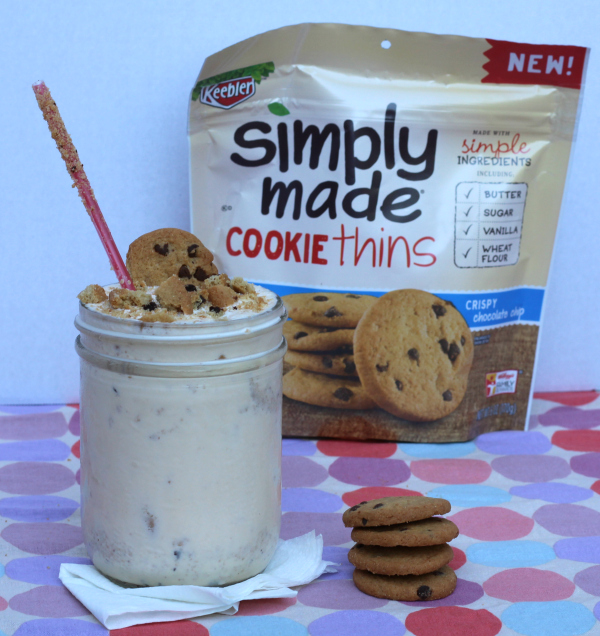 Relive Your Childhood With An Amazing Chocolate Chip Cookie Shake! AD #BiteSizedBitsOfJoy