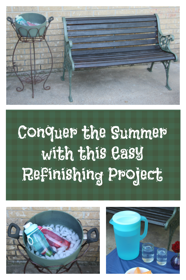 Conquer the Summer With This Easy Refinish Project AD #ColorYourSummer