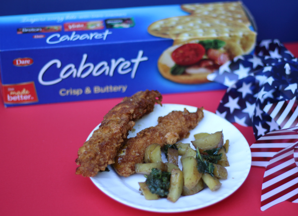 Crispy Breaded Chicken Tenders Cabaret