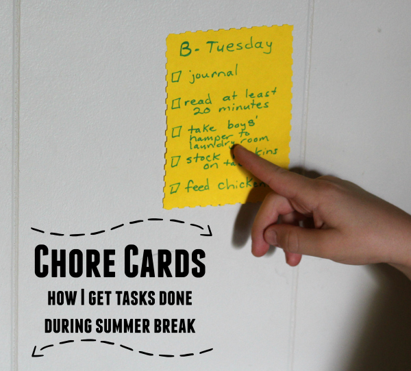 chore cards