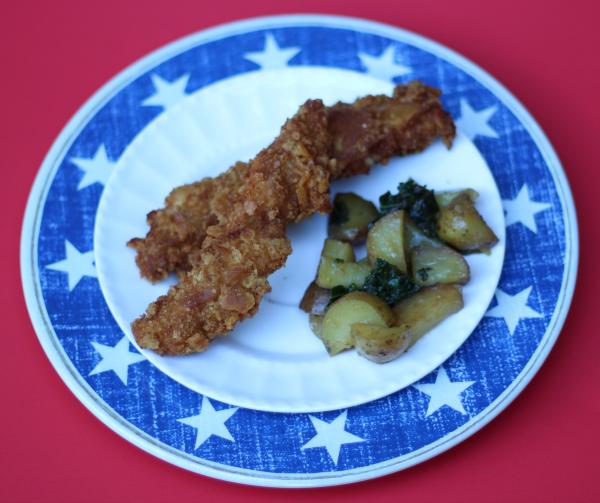crispy breaded chicken tenders 3