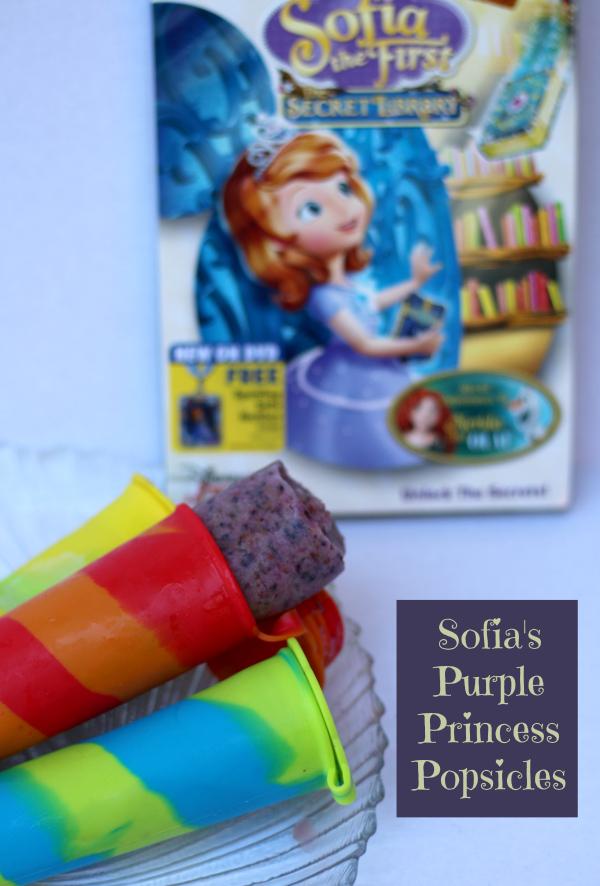 purple princess popsicles sofia