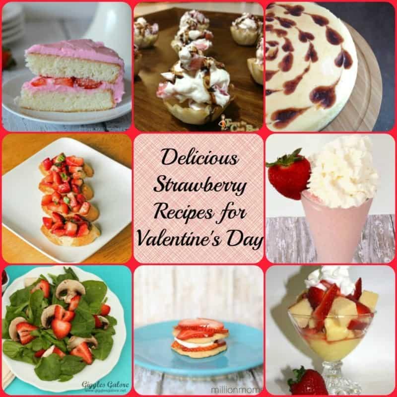 Delicious Strawberry Recipes for Valentine's Day