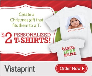 Vistaprint t shirt deals