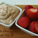 Chocolate Cheesecake Fruit Dip and Garlic Chicken Fettuccine & Kefir Sauce