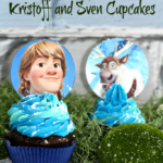 The Men of Frozen Cupcakes:  Kristoff and Sven