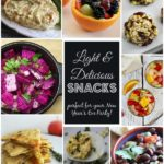 Light & Delicious New Year's Eve Snacks