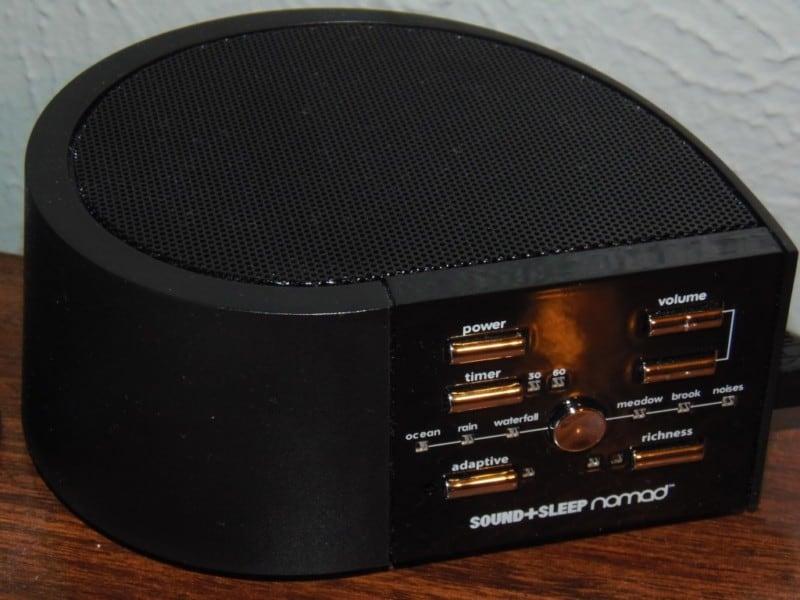 traveling sound machine