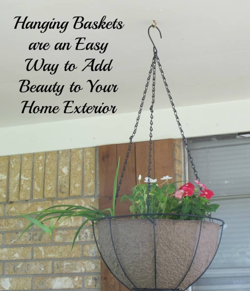 Hanging Baskets Add Beauty to Your Home Exterior