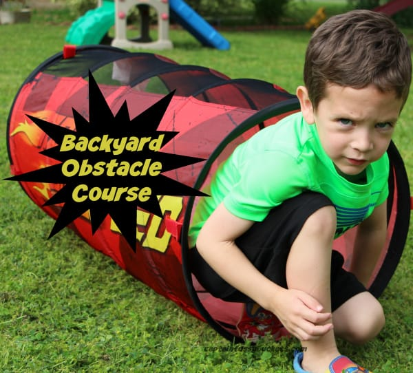 Create a Surprisingly Easy Backyard Obstacle Course This Summer!