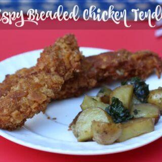 Crispy Breaded Chicken Tenders