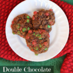 Making Memories Together:  Double Chocolate Oatmeal Cookie Recipe and Picture Ornament Craft for Kids