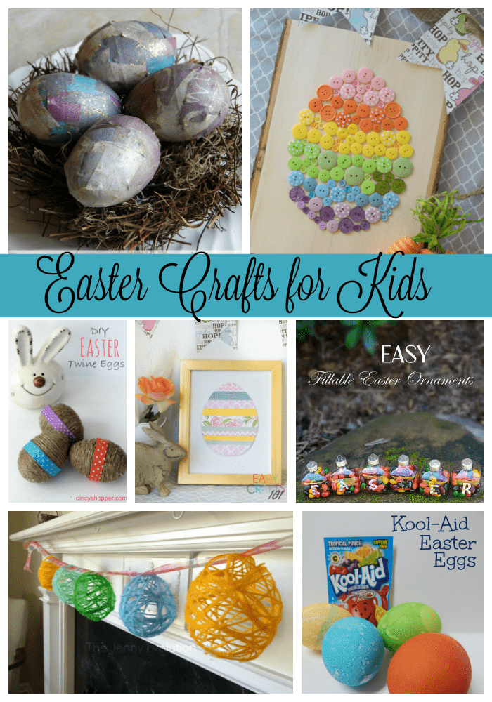 Easter Crafts For Kids Via Pinterest Ginger Casa