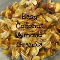 Easy Coconut Almond Granola Recipe