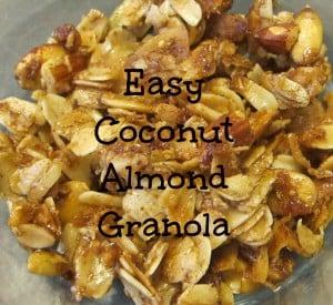 Easy Coconut Almond Granola Recipe