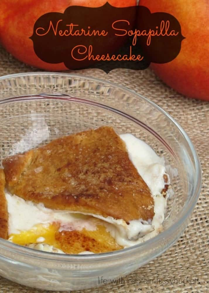 Nectarine Sopapilla Cheesecake Recipe