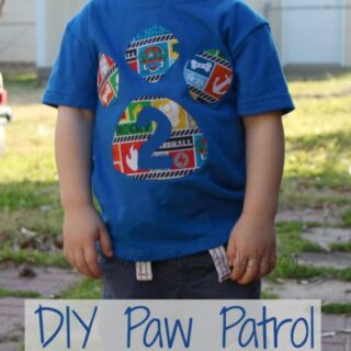 Easy Diy Paw Patrol Shirt No Sew With Free Template Printables