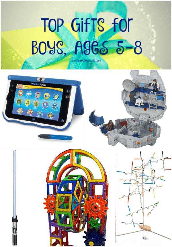 Best Toys For Boys Age 5 8 : Top gifts for boys ages ginger casa
