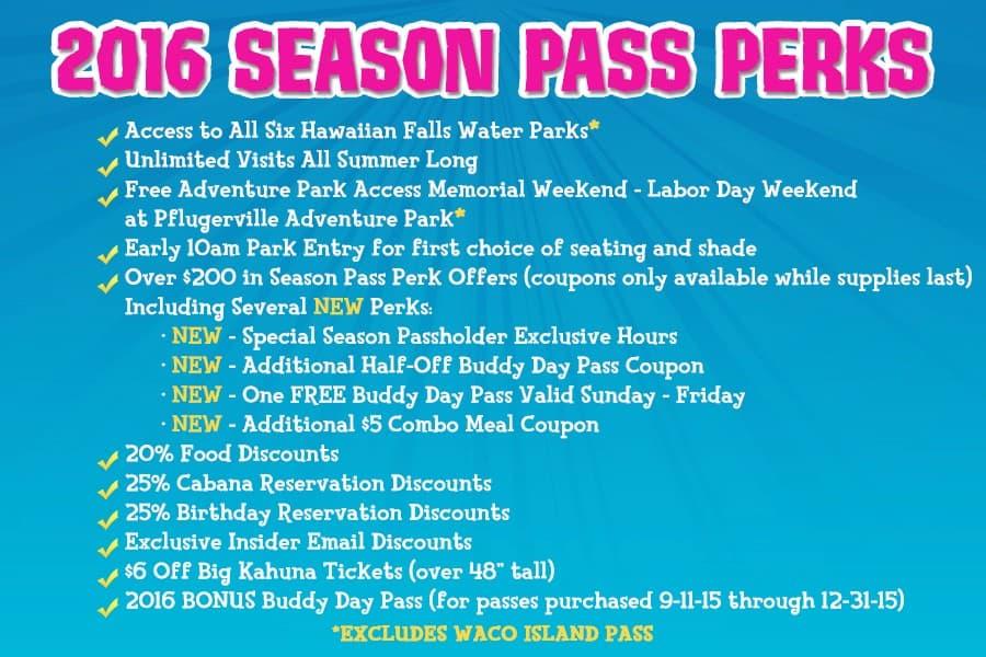 hawaiian falls season pass
