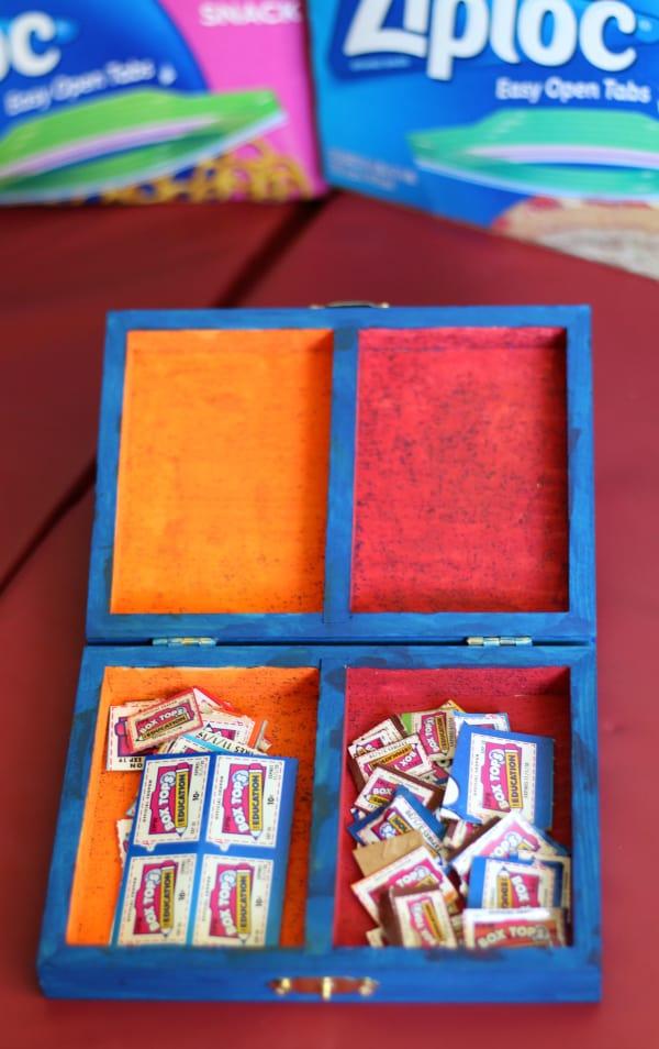box tops box ziploc costco