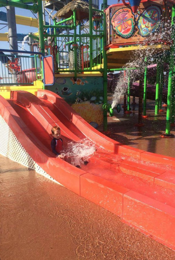 hawaiian falls kiddie slide
