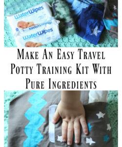 travel potty training kit c