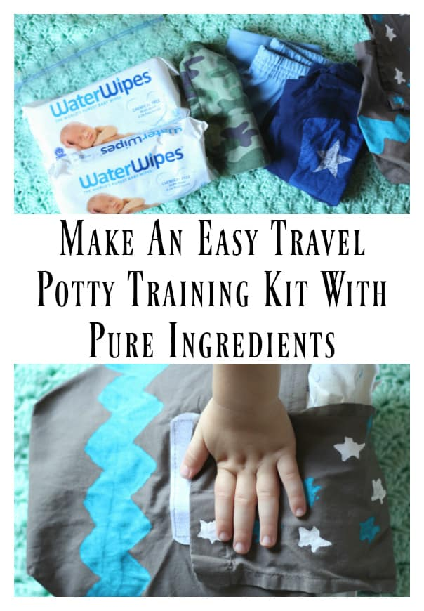 travel potty training kit c