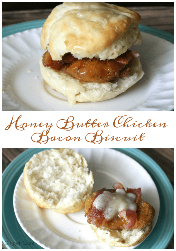 tyson honey butter chicken bacon biscuits